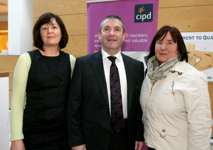 Chartered Institute of Personnel and Development in Ireland, Western Region seminar, Organisational Effectiveness, An Integrated Model, at Covidien, Mervue, Galway