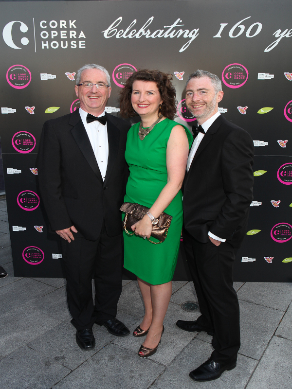 Barbara-Anne Richardson (Cork Chamber) & Martin O'Donoghue (Business Development Manager Cork Opera House)