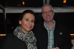 Priscilla Motte (Managing Director & Partner chez N.I Partners (France)) and Mike Morrissey (Director, CareerWise Recruitment)