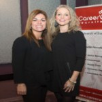 Audrey McSweeney, CareerWise Recruitment and Rachel O'Brien, Intel Security