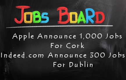 Great news this morning on the jobs front as Apple and