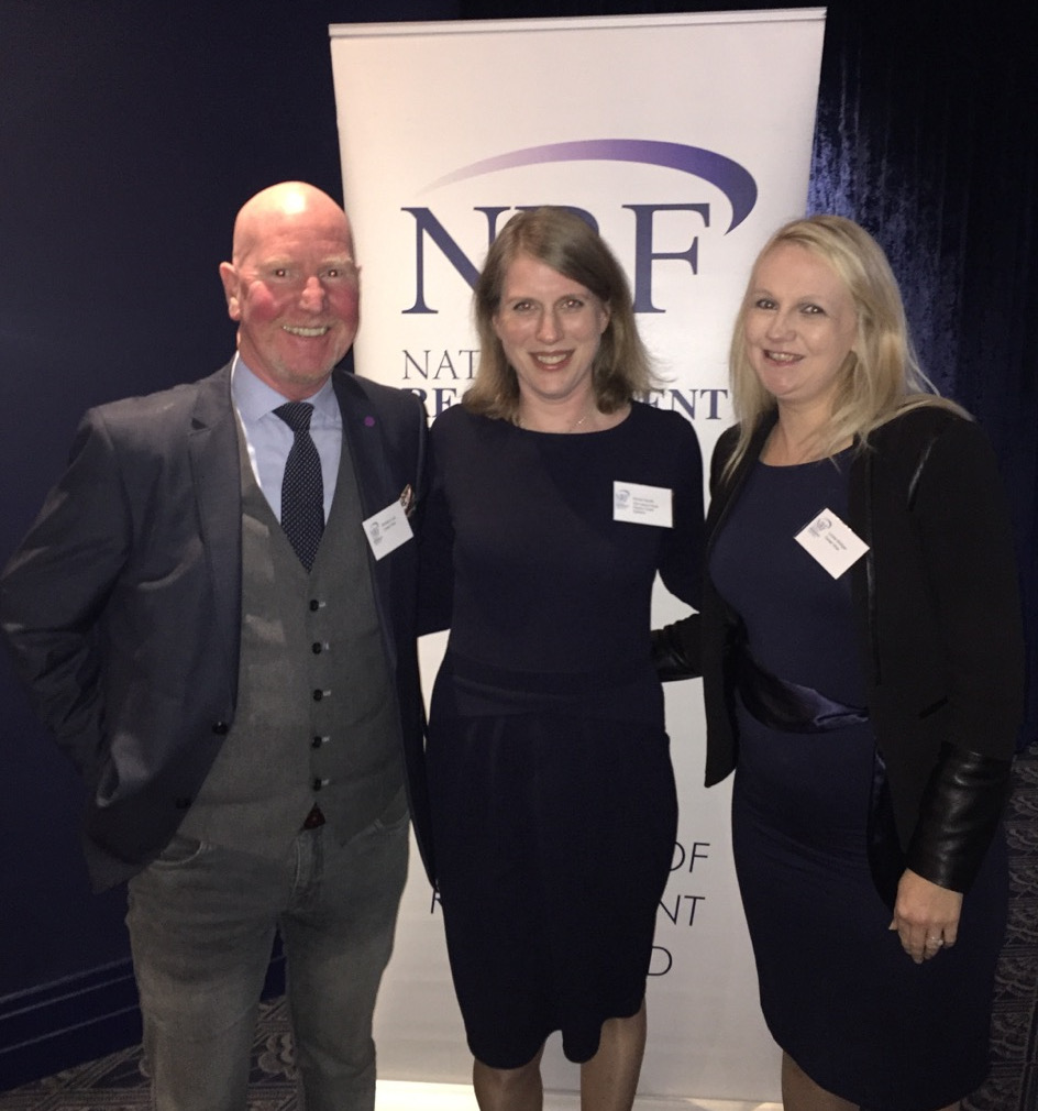 Left to right: Brendan Long (Executive Search, CareerWise), Emma Goode Business Development and Relationship Manager - West Region at IDA Ireland and Louise Mulligan (Senior Recruitment Consultant, CareerWise)