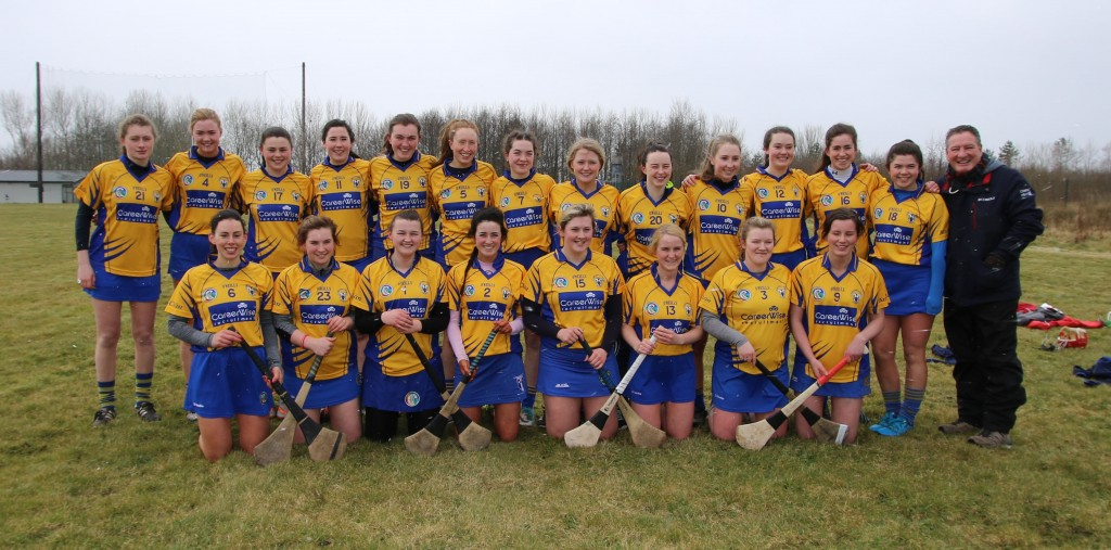 Clare Camogie - First competitive game since the open of the facilities at Fr McNamara