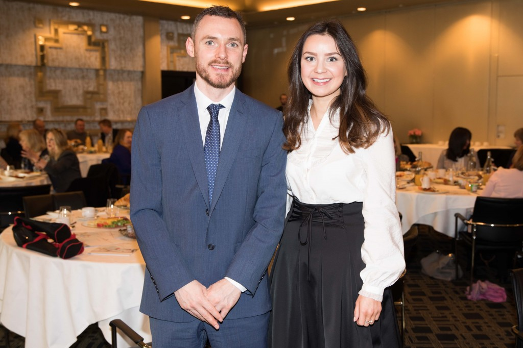 Conor Twomey and Michelle Galvin (CareerWise Recruitment), at the CIPD Southern Region breakfast sponsored by Careerwise Recruitment in the Maryborough House Hotel. PICTURE Darragh Kane