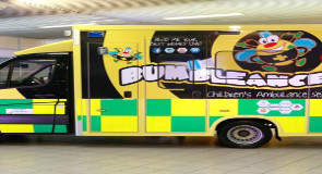 Zimmer Biomet organise plant to plant charity cycle in aid of BUMBLEance (The Children's Ambulance service)